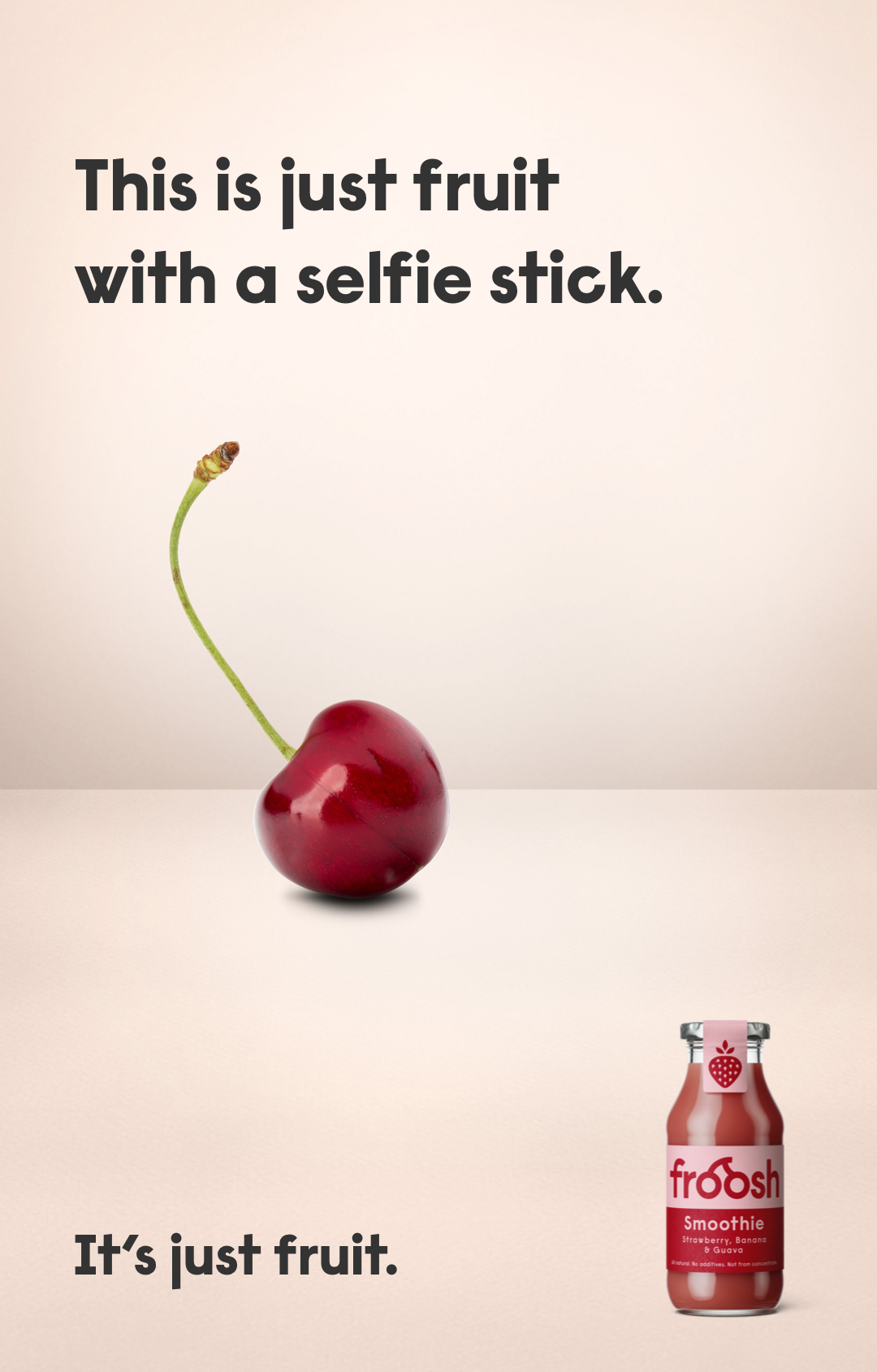 Cherry-Selfie
